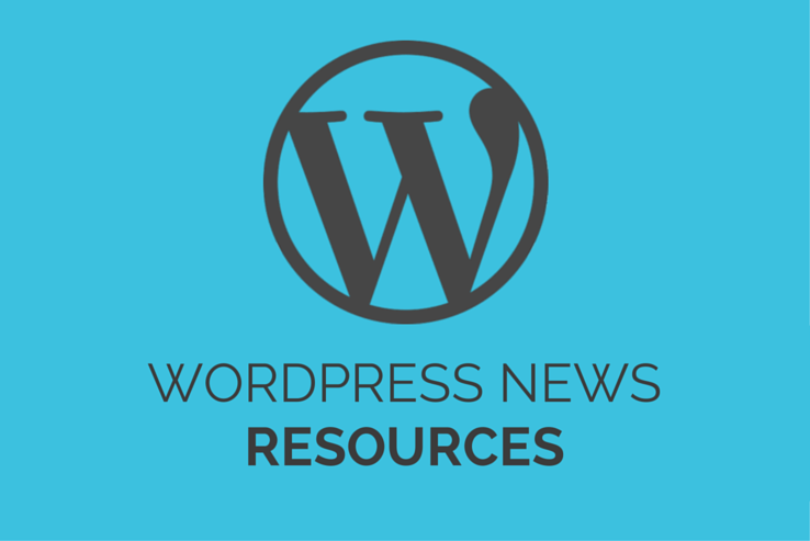 WordPress News Resources