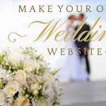 Make your own wedding website