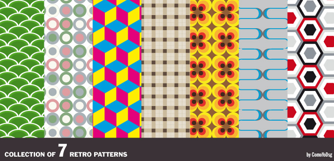 Retro Vector Patterns