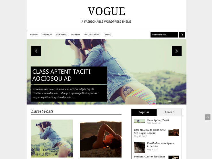 Vogue by MyThemeShop