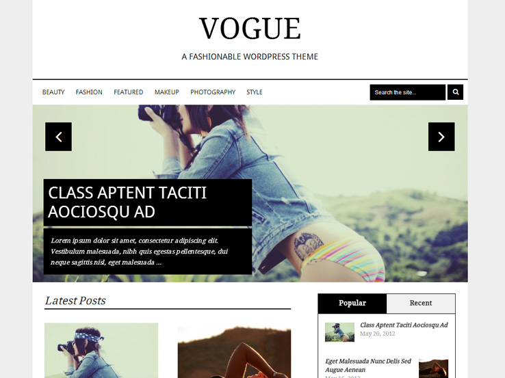 35+ Amazing WordPress Fashion Themes 2018