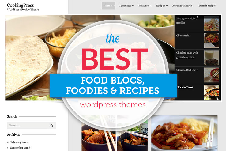 60 best wordpress food blog themes 2018 wordpress food blog themes forumfinder Choice Image