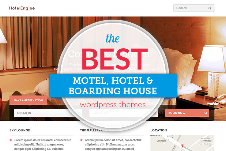 Best WordPress Hotel Themes