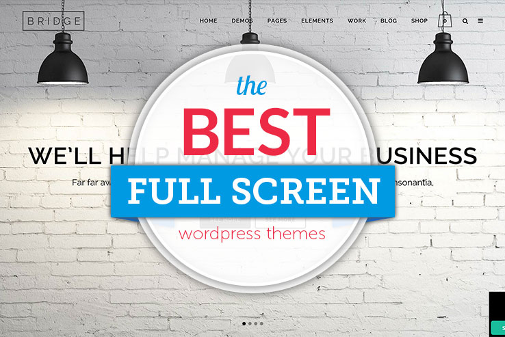 Best Full Screen WordPress Themes