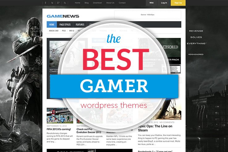 35+ Best WordPress Gaming Themes 2018