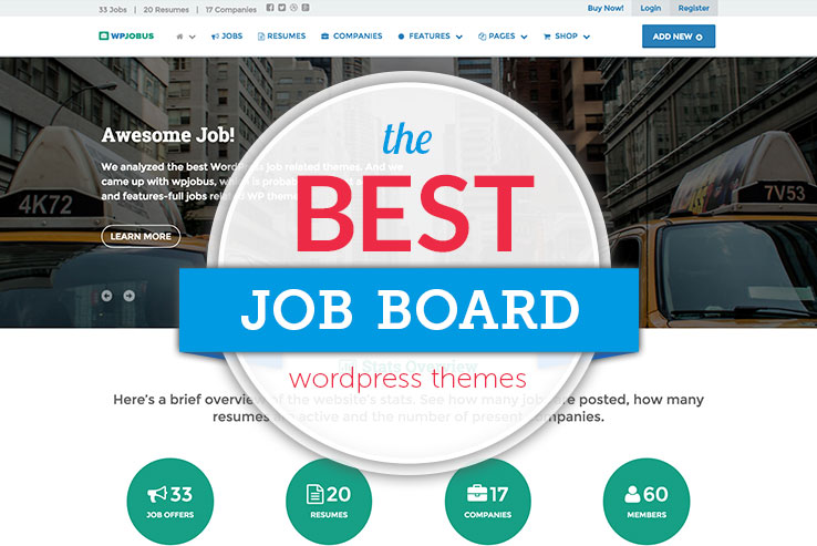 Awesome Job Board WordPress Themes