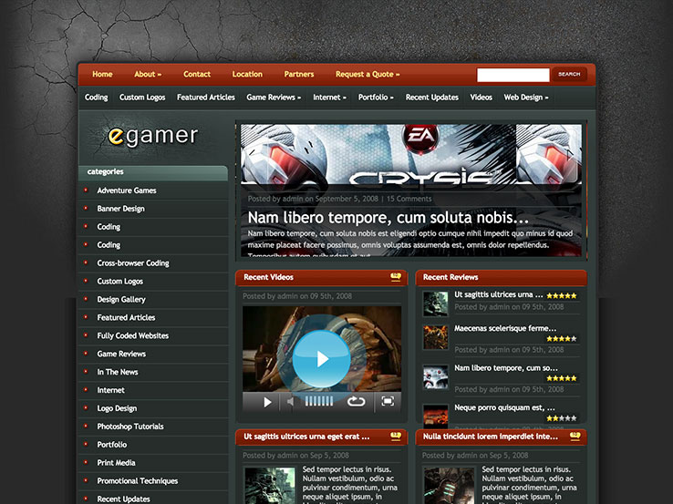 Best WordPress Gaming Themes - Game design websites