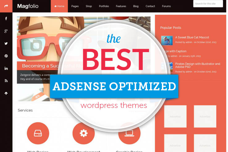 25+ Google Adsense-Optimized WordPress Themes 2018