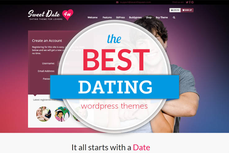 35+ Best WordPress Dating Themes 2018