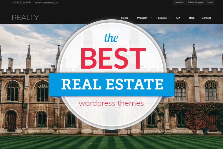 18+ Best Responsive Real Estate WordPress Themes 2019