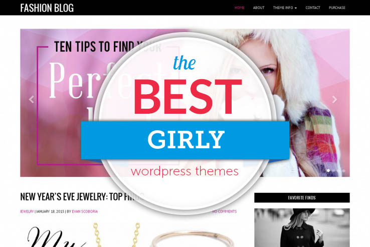60+ Best Girly WordPress Themes in 2017