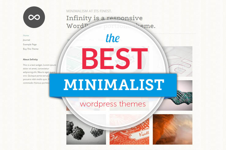 60+ Best Minimalist WordPress Themes 2018