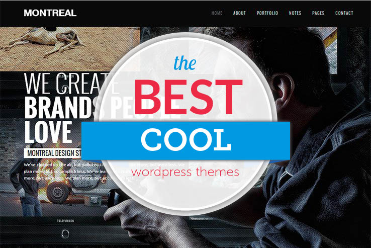 70+ Cool WordPress Themes for Creatives and Professionals 2018