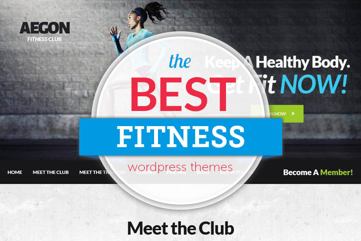 Best WordPress Fitness Themes