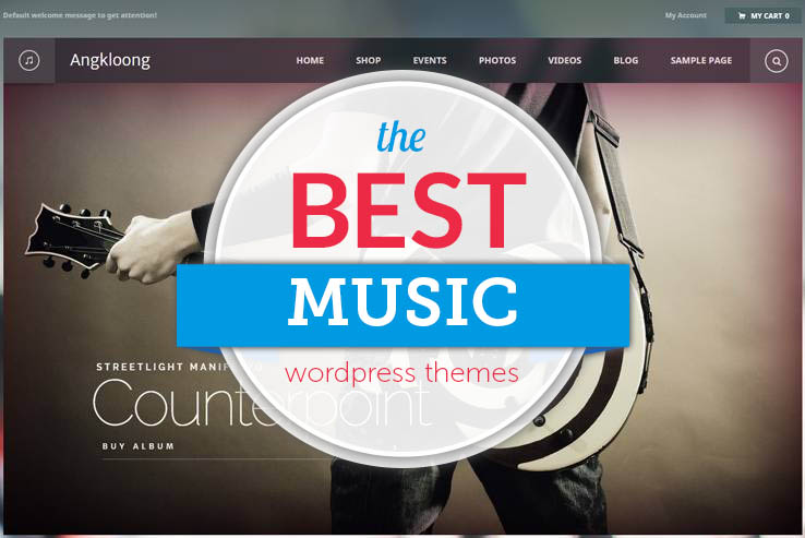 Best WP Music Themes