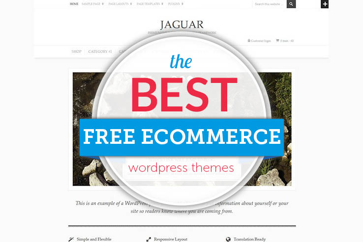 28+ Free eCommerce WordPress Themes 2019