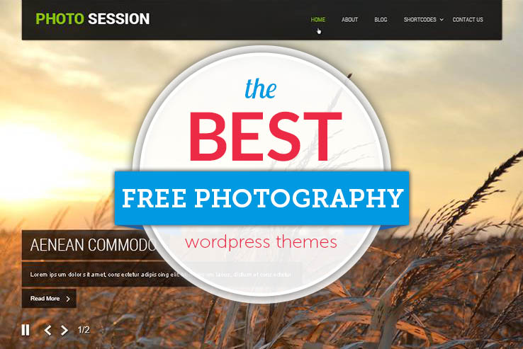 29+ Best Free Photography WordPress Themes 2019