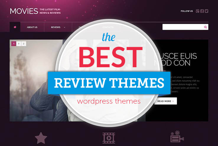 the best review wordpress themes